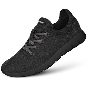 Giesswein Merino Wool Runners Dames, anthracite